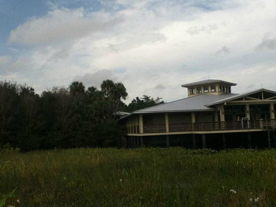 Green Cay Nature Center and Wetlands: interpretation center