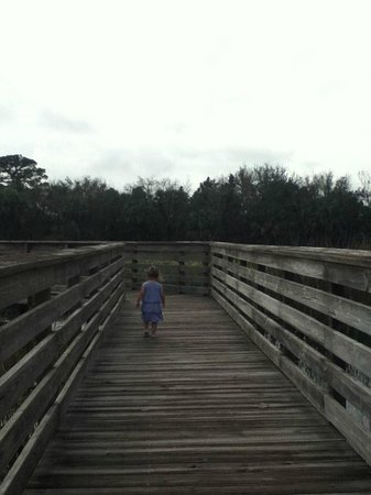 Green Cay Nature Center and Wetlands: boardwalk
