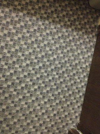 Days Inn & Suites Stevens Point : Room carpet