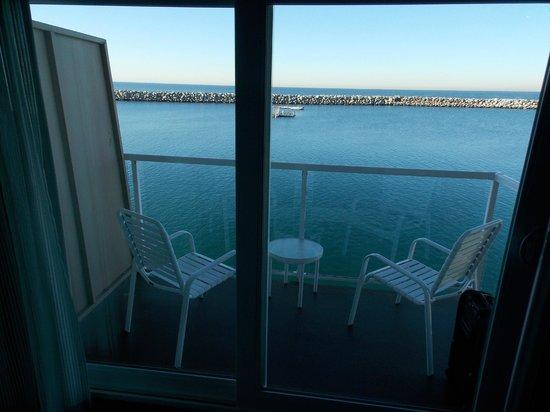 The Portofino Hotel & Marina, A Noble House Hotel : Balcony1