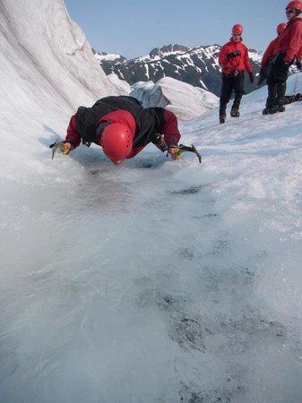 Mendenhall Glacier: Glacier Sip