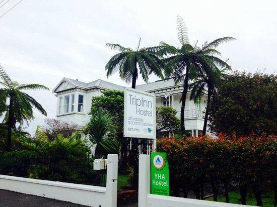 TripInn Hostel, YHA Westport: edificio principal