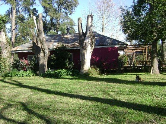 Reserva La Juana : Vista de la cabaña