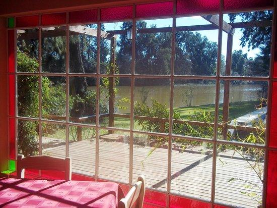 Reserva La Juana : Vista desde la recepción