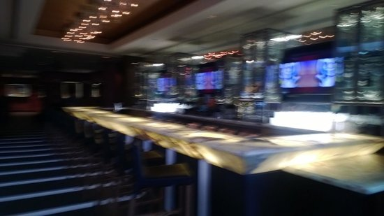 Hard Rock Hotel Palm Springs: one of the bars