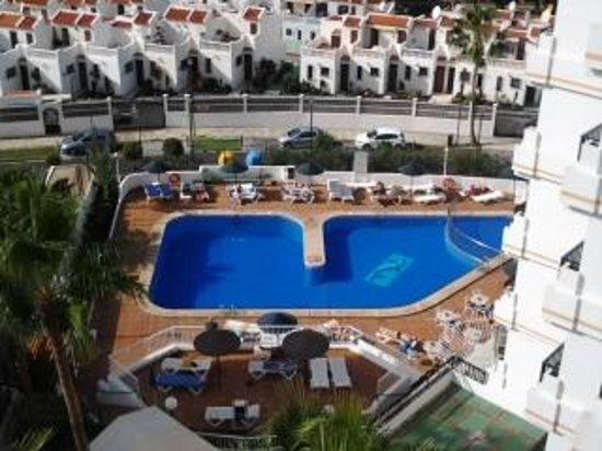 Aparthotel Club Bonanza : utsikt från hotell Bonanza våning 8