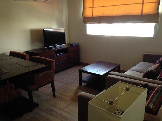 Lohas Residences Sukhumvit : リビング