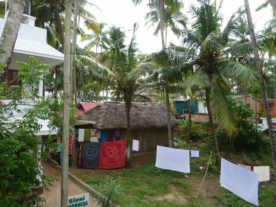 Keratheeram Beach Resort: View from Top floor