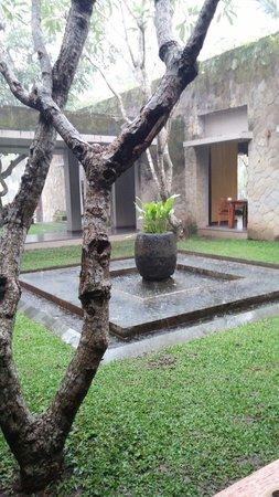 Maya Ubud Resort & Spa: Rainy day in Maya Ubud.