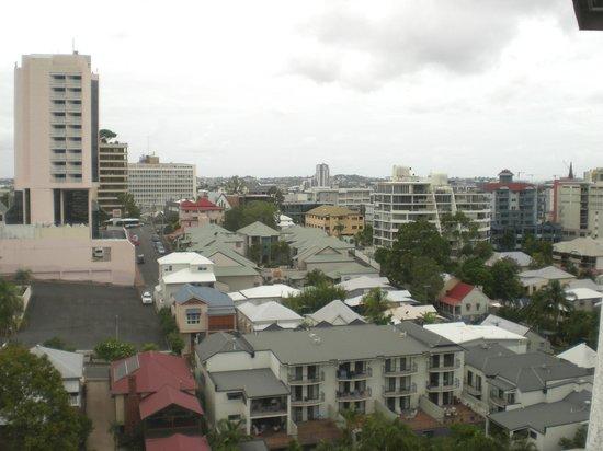 Hotel Urban Brisbane : 911 View to Spring Hill
