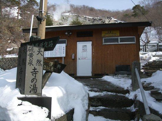 Shirakaba : 共同浴場「寺の湯」は一般客は300円。宿泊客は無料