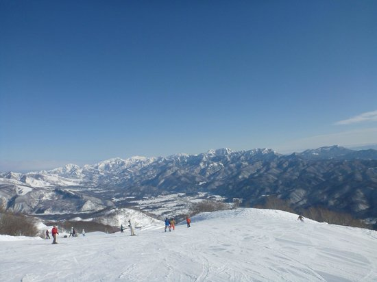 Hakuba 47 Winter Sports Park : View from the top