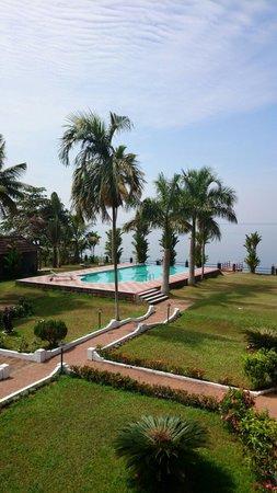 Leisure Vacations Goldfield Lake Resort: Vue depuis le balcon de notre chambre