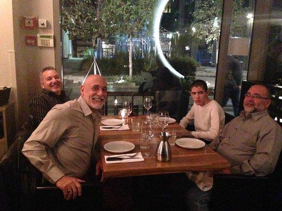 Hudson Restaurant : dinner at Hudson