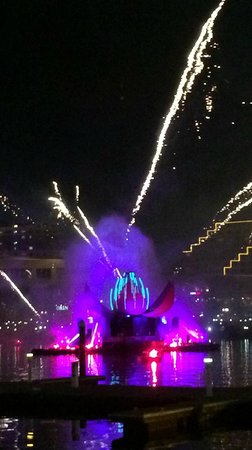 Sheraton on the Park, Sydney: Aust Day harbour fireworks
