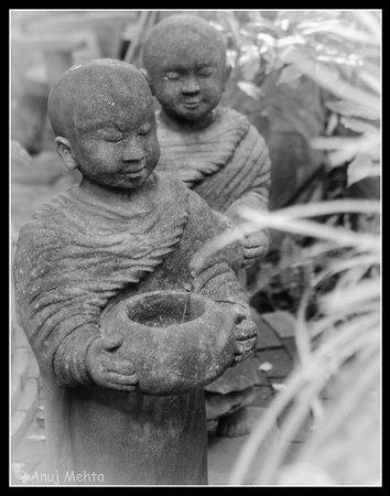 Santitham Guest House: Monks