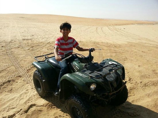 Liwa Hotel : buggy ride
