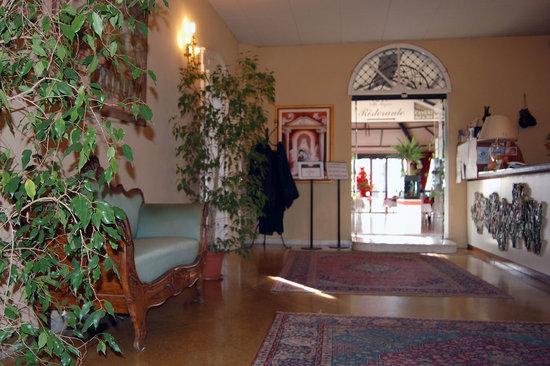 Villa Regina: hall