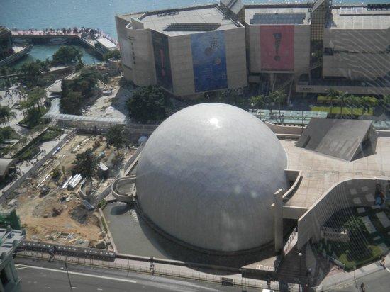 The Peninsula Hong Kong : View from room