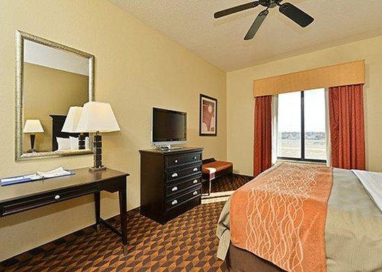 Comfort Inn & Suites: Guestroom View