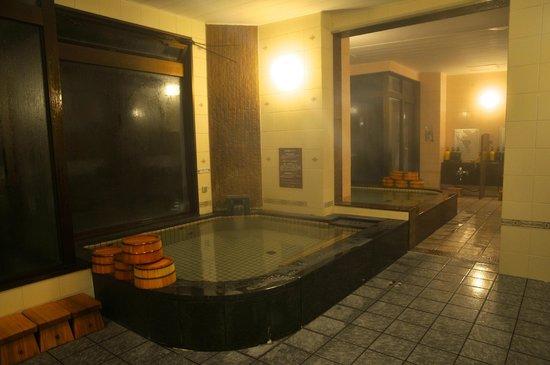 Maruyama Onsen Hotel Kojyokan: 石ぼちゃ ジェットバス付