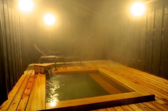 Maruyama Onsen Hotel Kojyokan: 蔵ぼちゃ 半露天風呂