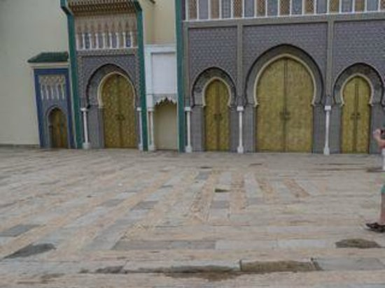 Royal Palace of Fez (Dar el Makhzen) : Ornate external walls and gates