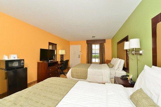 Americas Best Value Inn & Suites-Shenandoah/Conroe: Double Beds
