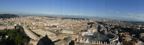 Cupola di San Pietro: View from the top 3
