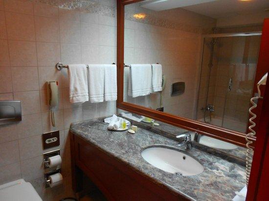 Renaissance Polat Istanbul Hotel: Ванная комната