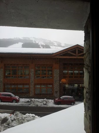 """Sport Hotel : """"Room with a view"""" - some view behind the building"""