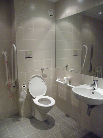 CityNorth Hotel & Conference Centre: bathroom - without bath!