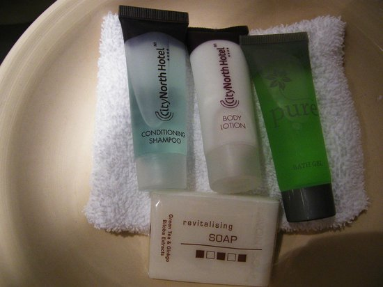CityNorth Hotel & Conference Centre: hotel's own toiletries - very nice