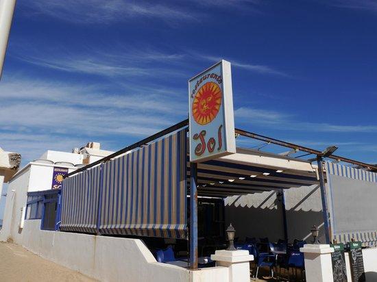 El Sol: фасад