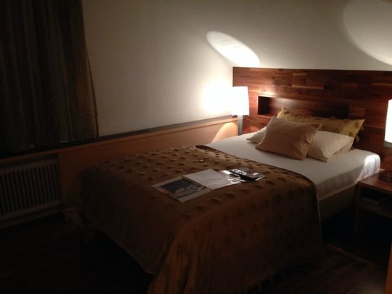 Hirschen: The bedroom