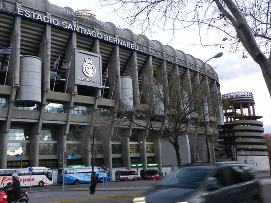 Estadio Santiago Bernabéu: Estadio Santiago Bernabeu