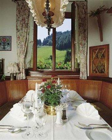 Hotel Restaurant Ochsenwirtshof: Gastronomy
