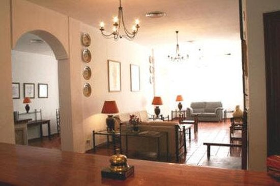 Hotel San Blas: Interior