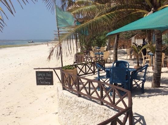 Diani Blue: front of house