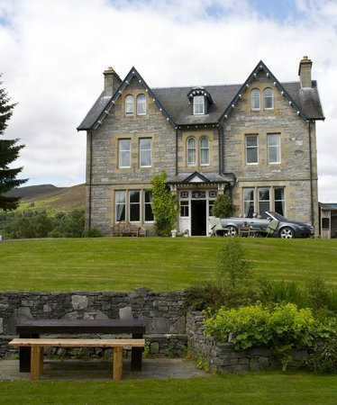 Suidhe lodge and suie bar: Lovely victorian lodge