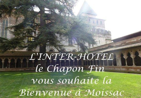 Hôtel le Chapon Fin : Bienvenue à Moissac - Cloître