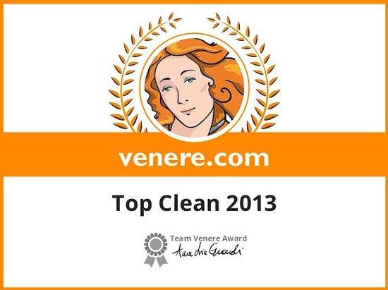 Hôtel le Chapon Fin : Top Clean Venere 2013