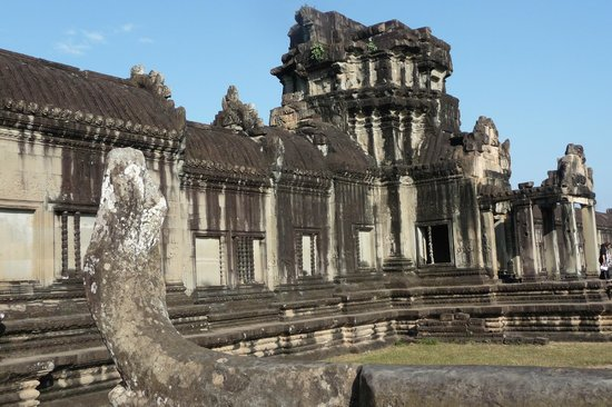 Angkor Riviera Hotel: Tempelanlage