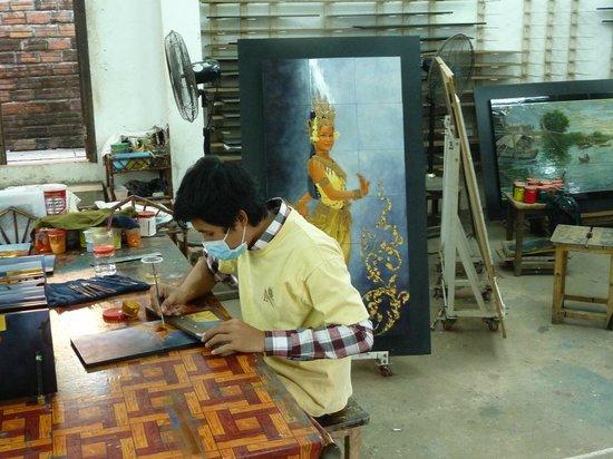 Angkor Riviera Hotel: Behindertenwekstätte