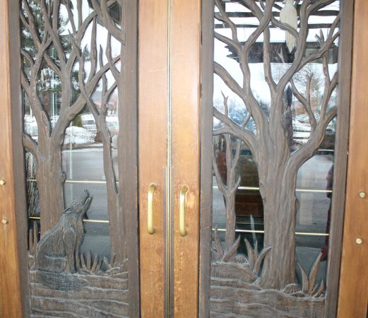 Great Wolf Lodge : Entrance doors