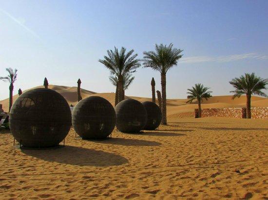 Arabian Nights Village: view from the restaurant