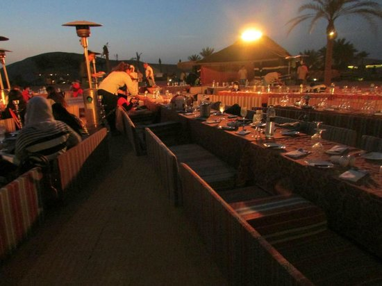 Arabian Nights Village: dinner