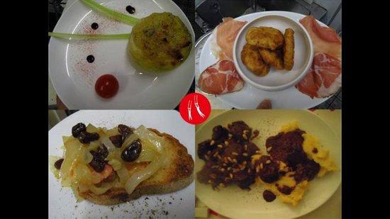 CIRCO MITALI' : Various mix plate appetizers