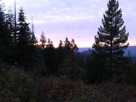 Shangri-La Sierra: Sierra Sunset (Downieville area, not at the Shangri La)