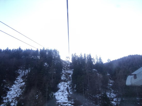 Zwolferhorn Cable Car: In the car